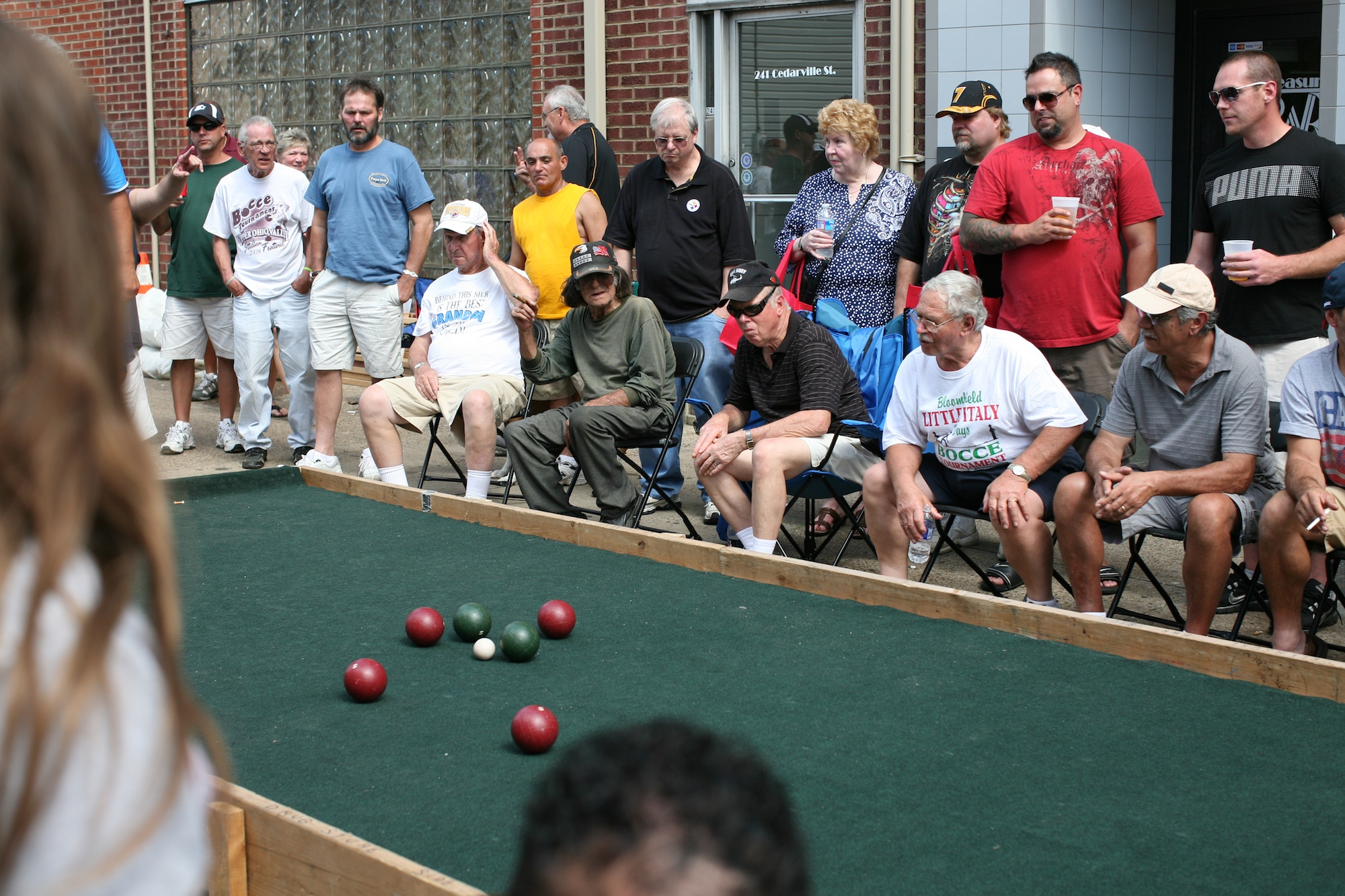 Watching Bocce