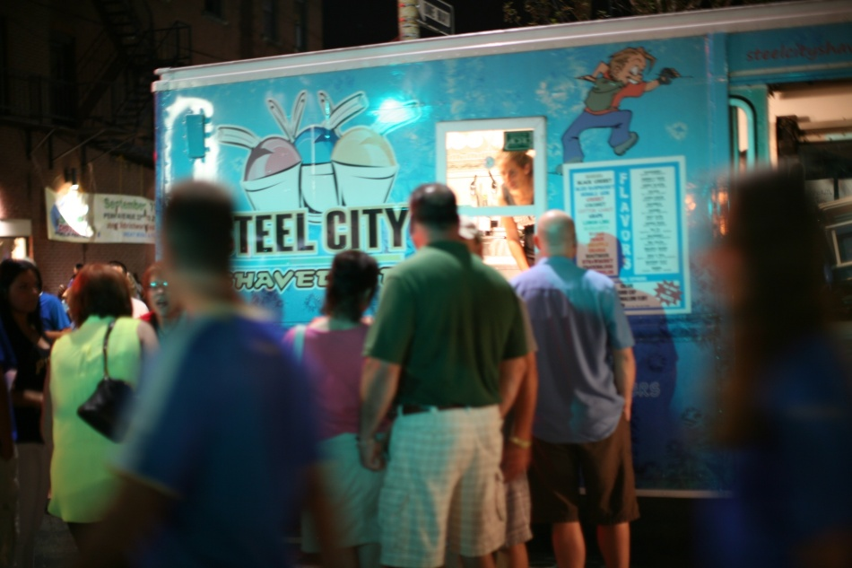 Steel City Shaved Ice Truck
