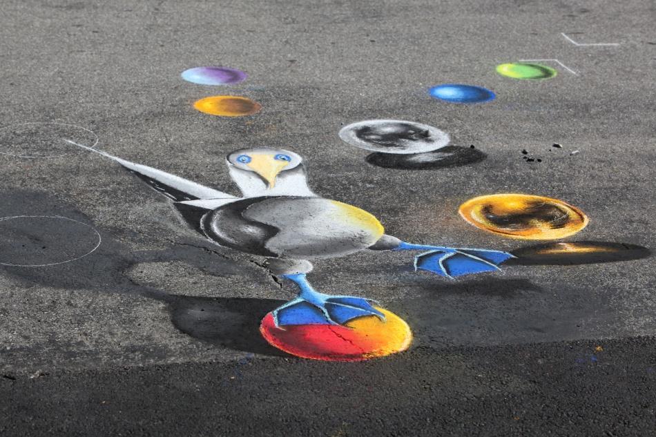 Chalk the Block Bastides