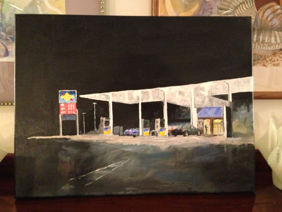Sunoco  painted by artist Jon Walker