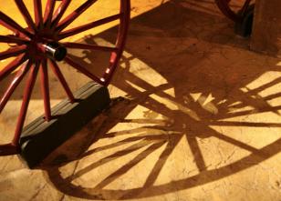Wagon Wheel at COSI Columus