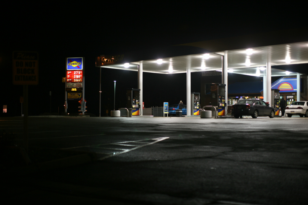 Sunoco at Night