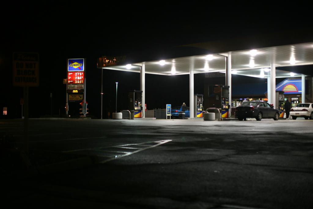 Sunoco at Night