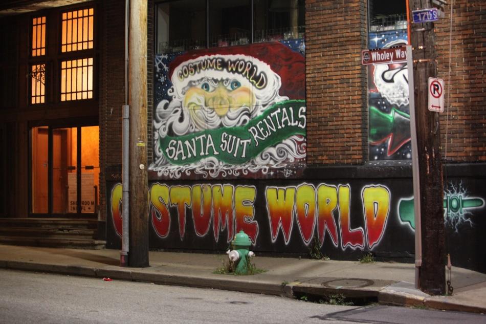 Santa Suit Sign