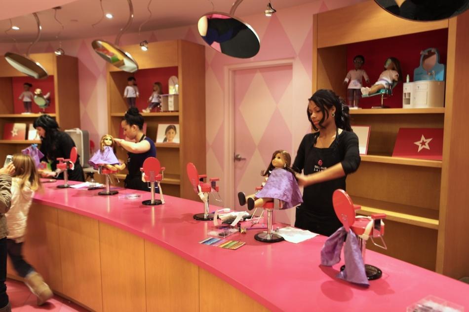 American Girl Beauty Salon
