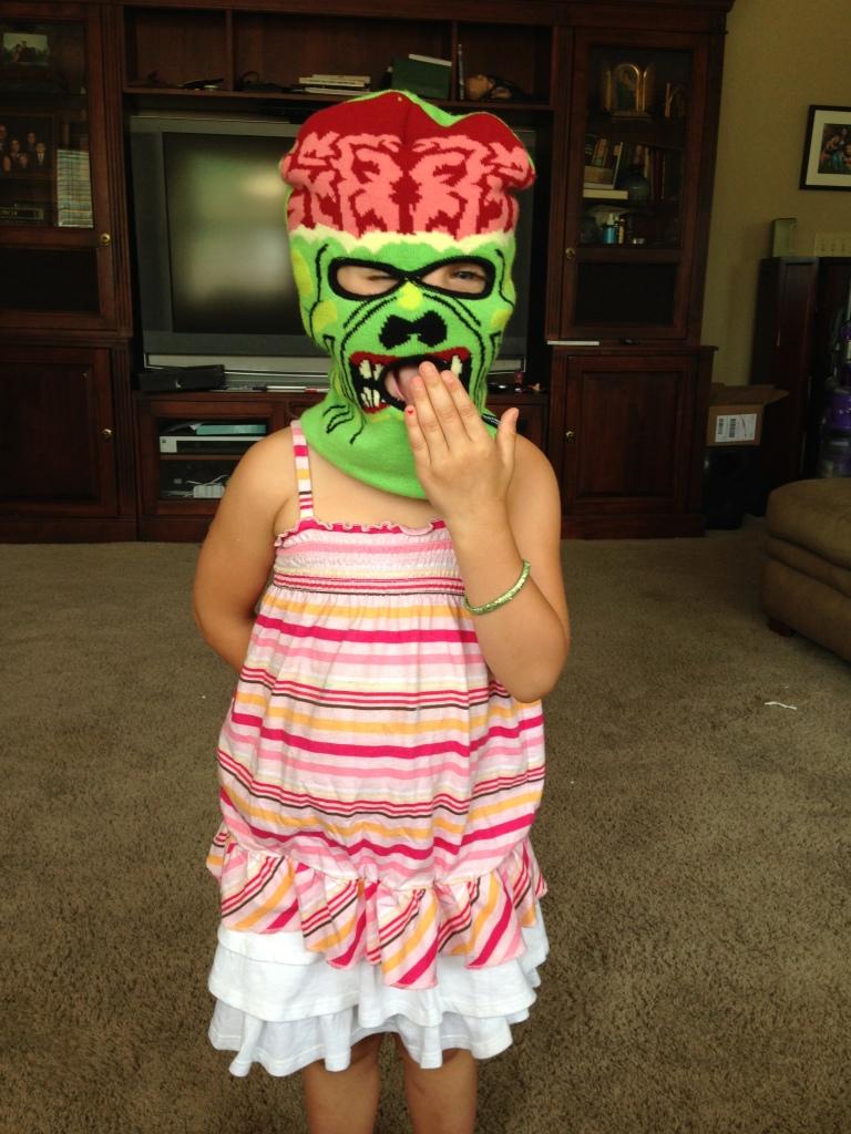 Maura in Ski Mask