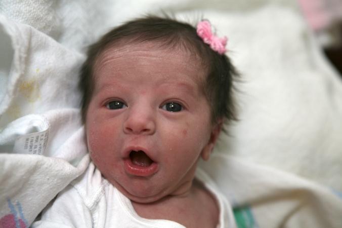 Maura newborn