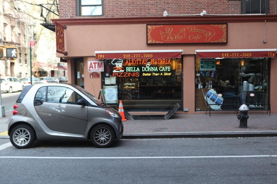 mini car in NYC