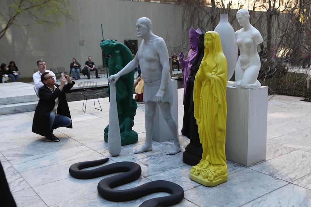 MOMA courtyard