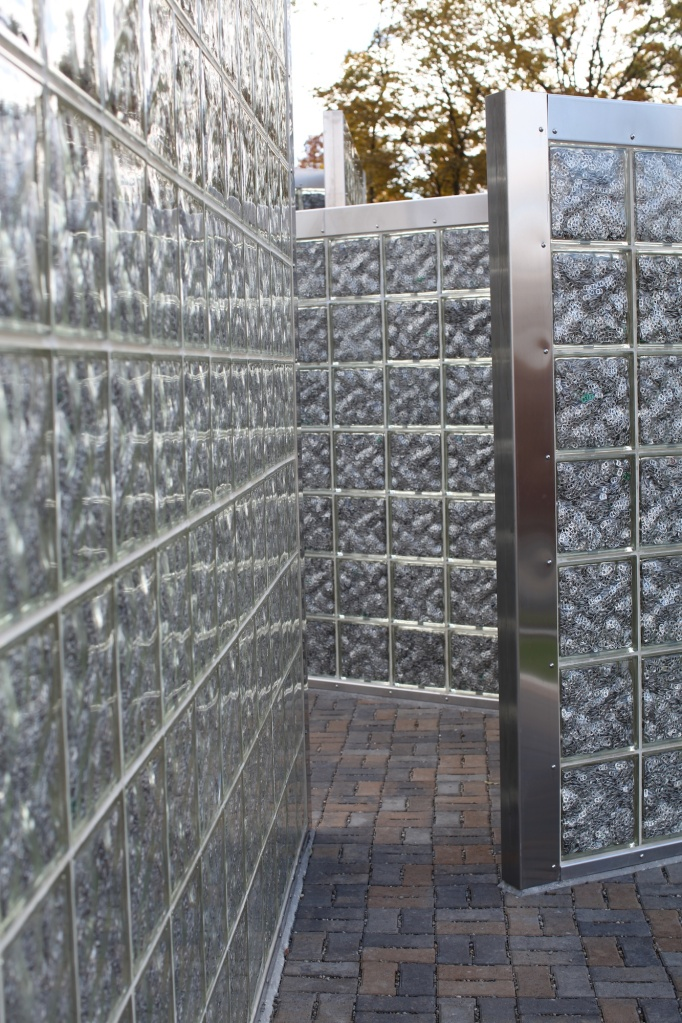 Pop Tabs in Glass Blocks