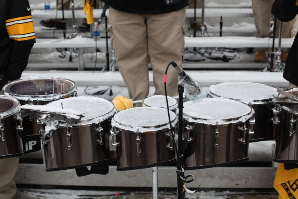 Snow on Drums