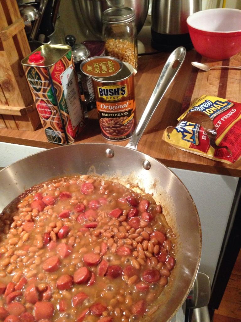 Simmer Baked Beans
