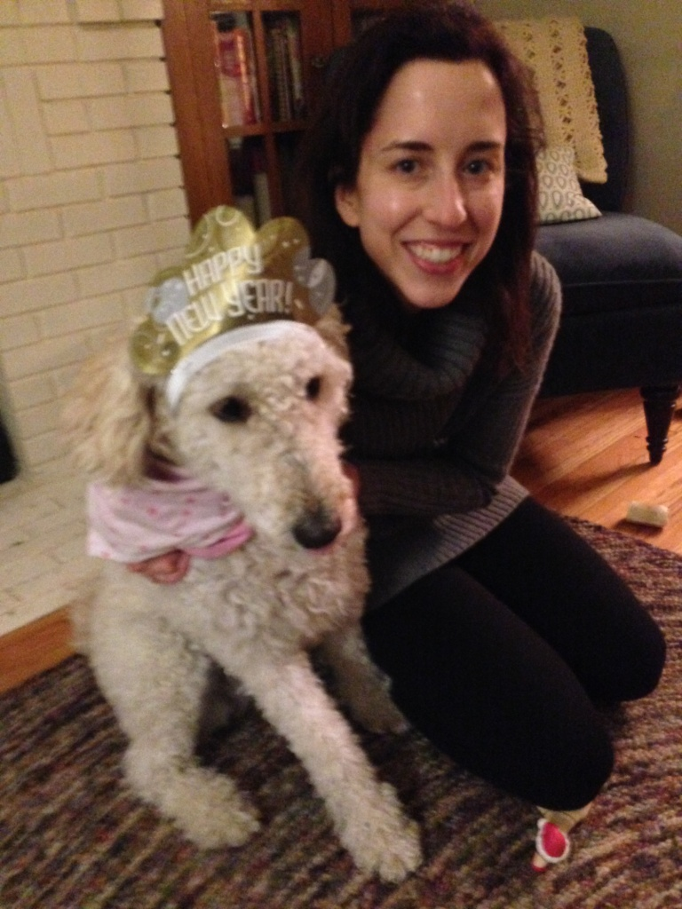 penny and the new year crown