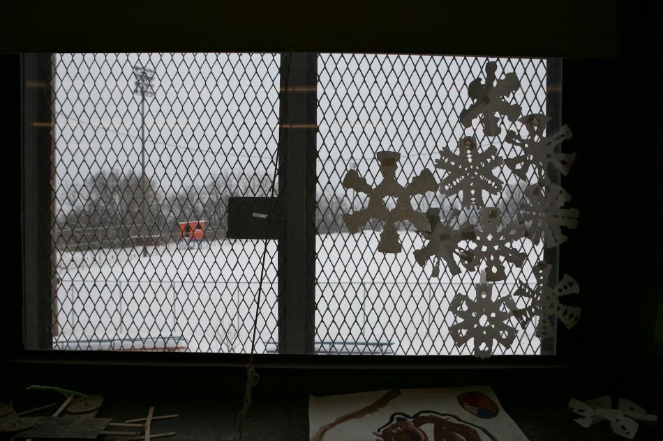 Fort Pitt Art Room Window