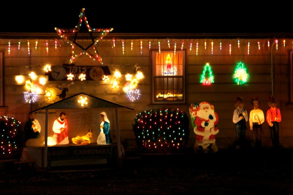Merry Christmas Window
