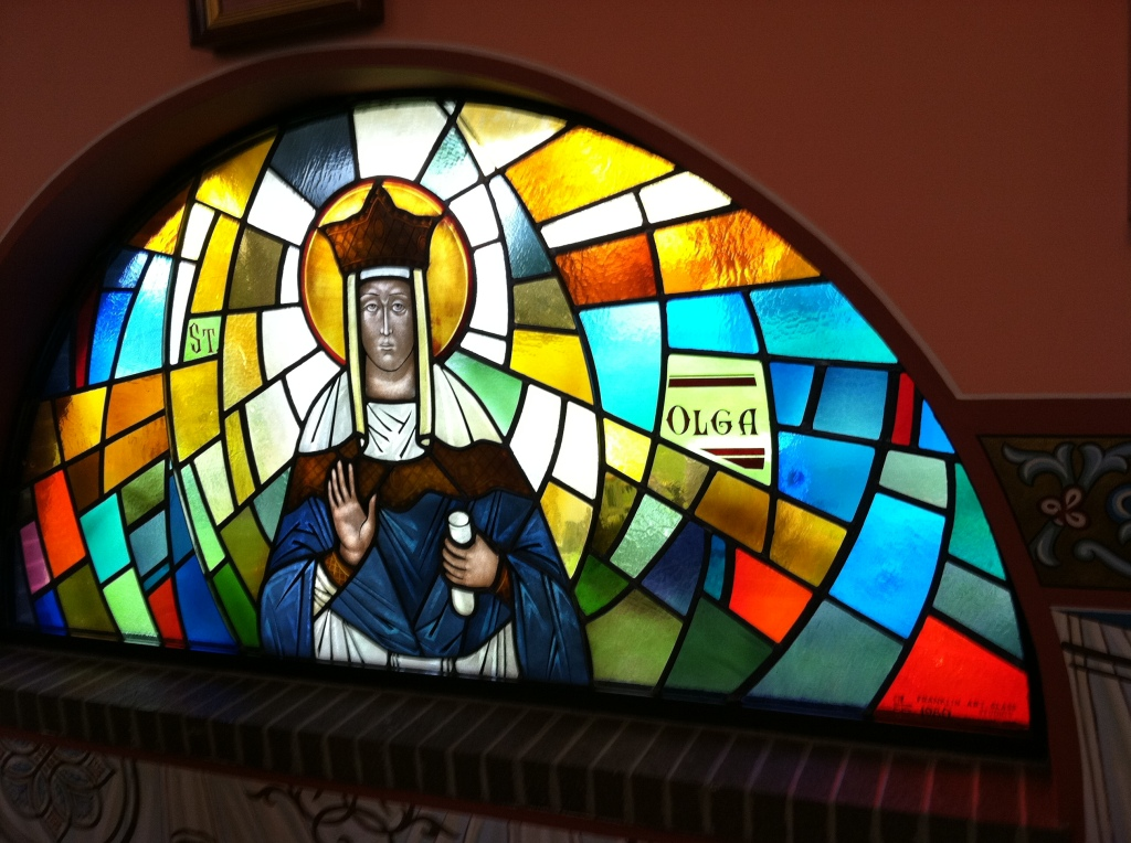 Olga Stained Glass