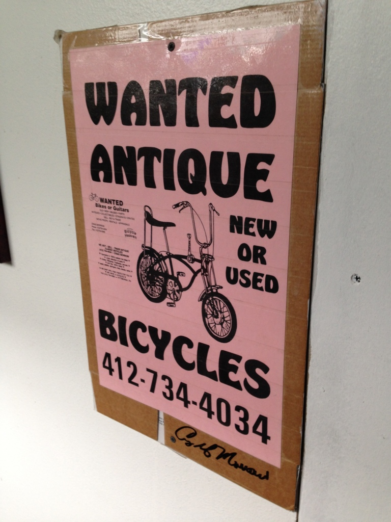 Wanted Antique Bicycles