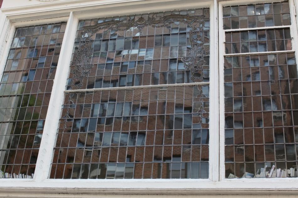 leaded window panes