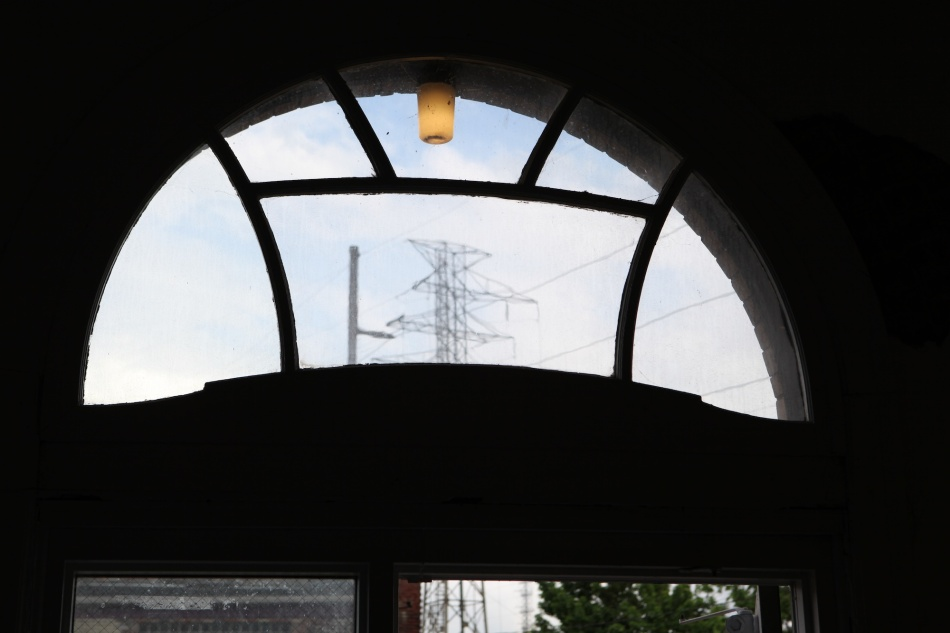 power lines Window