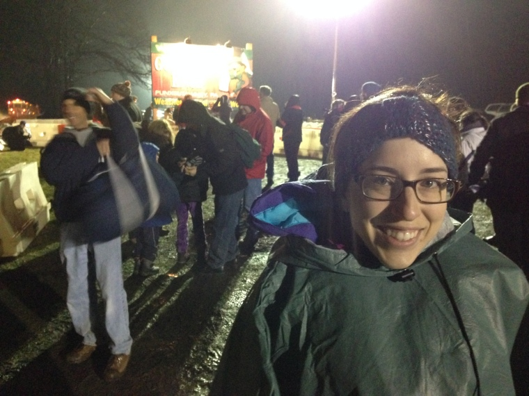 Laura at Gobbler'sKnob