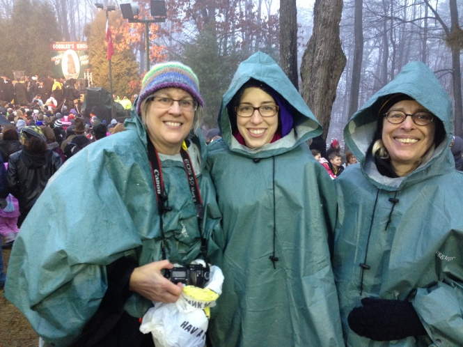 Ruth Laura and MAry at Gobbler's Knob