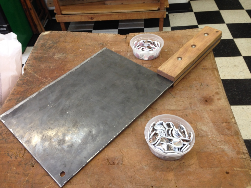 Butcher Block and Cleaver