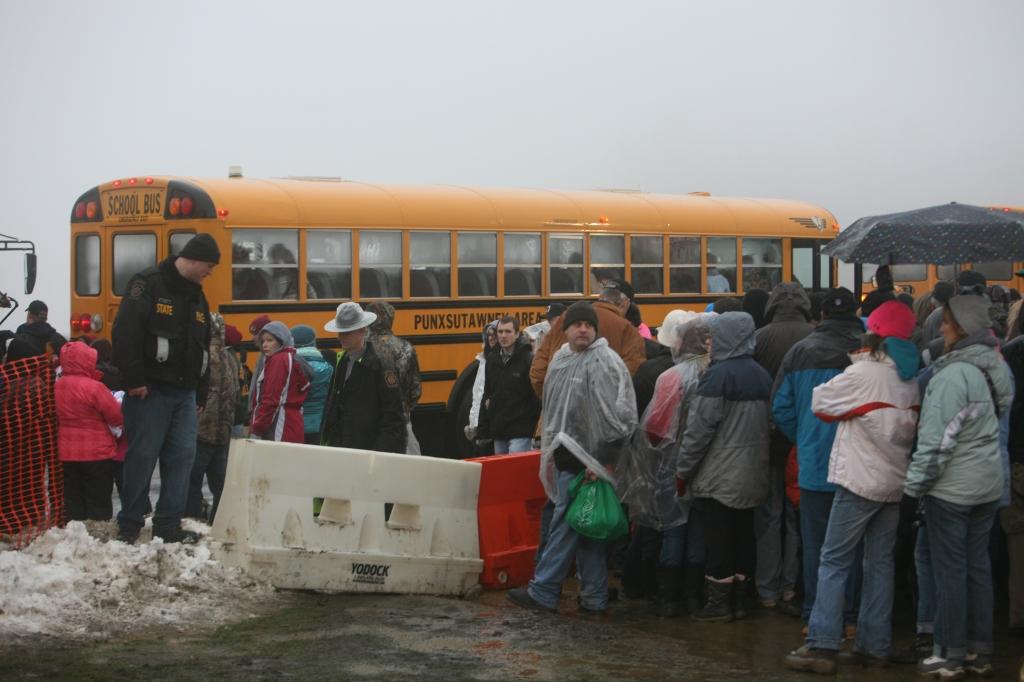 Buses on Gobbler's Knob