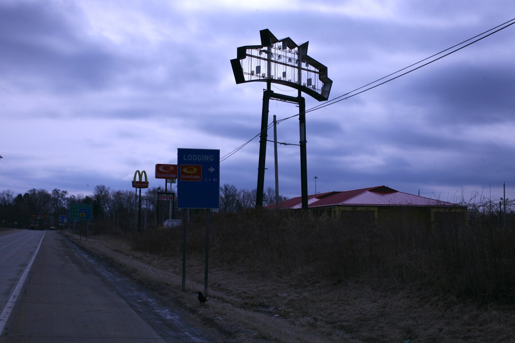 Sign to Nowhere