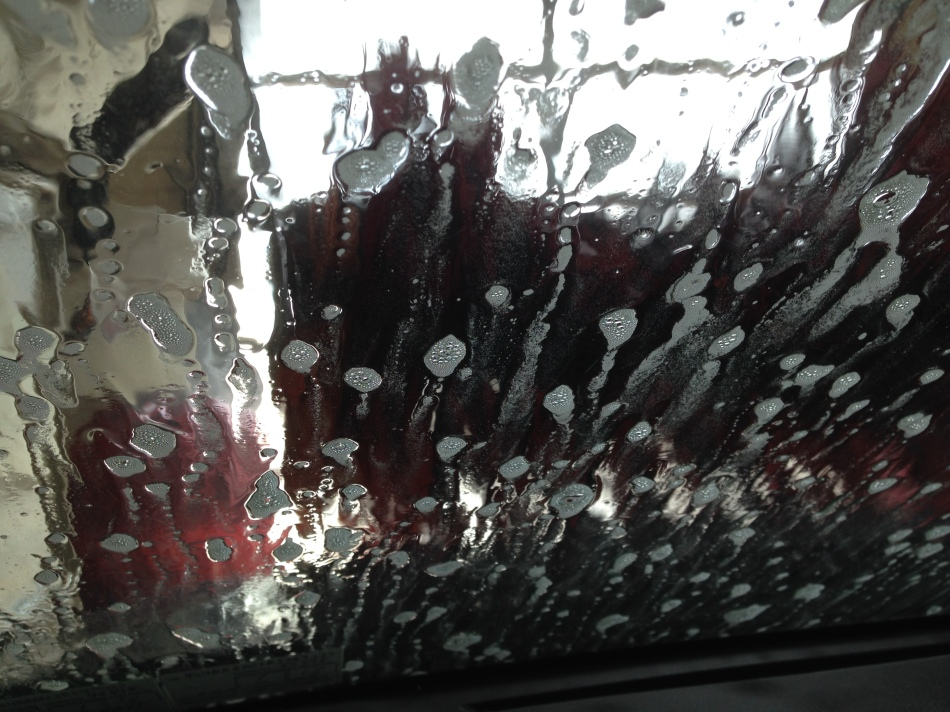 Soap on the Windshield