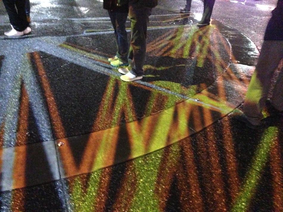 light on feet