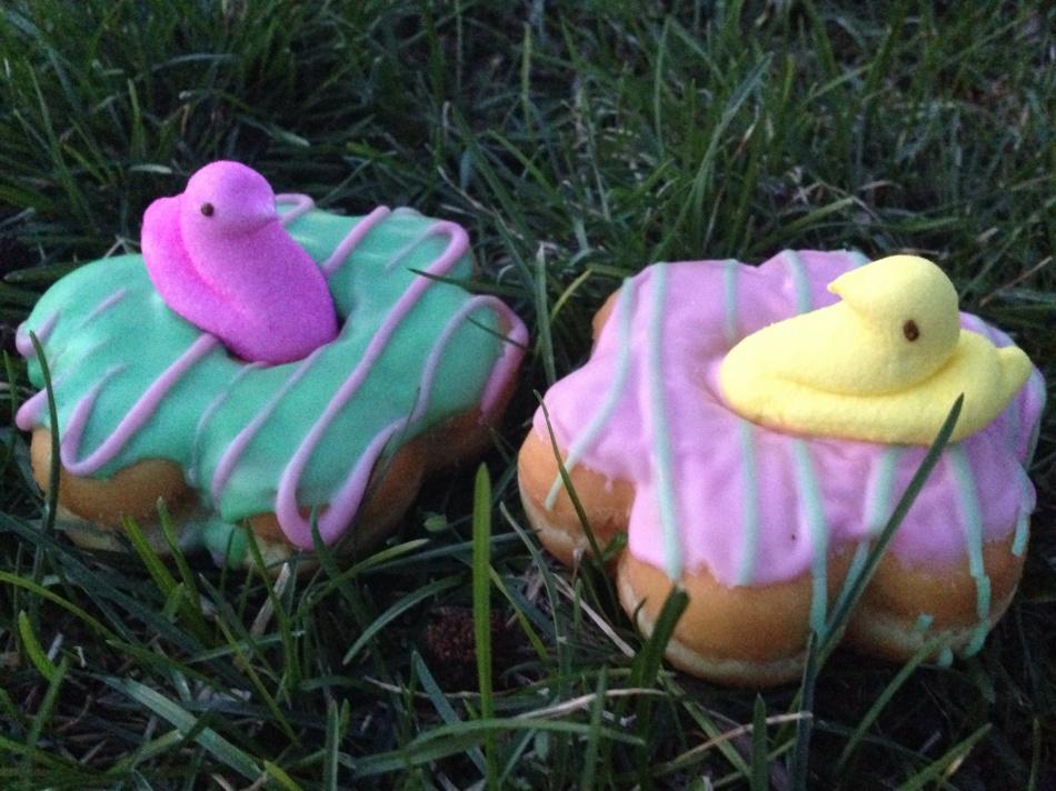 easter doughnut