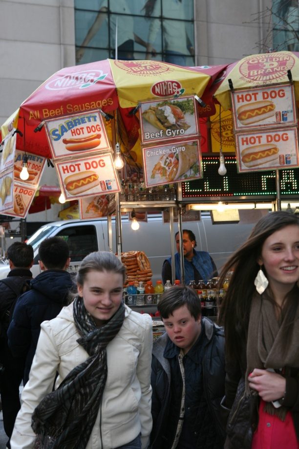 Hot dog Vendor NYC