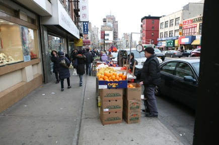 Fruit Seller NYC