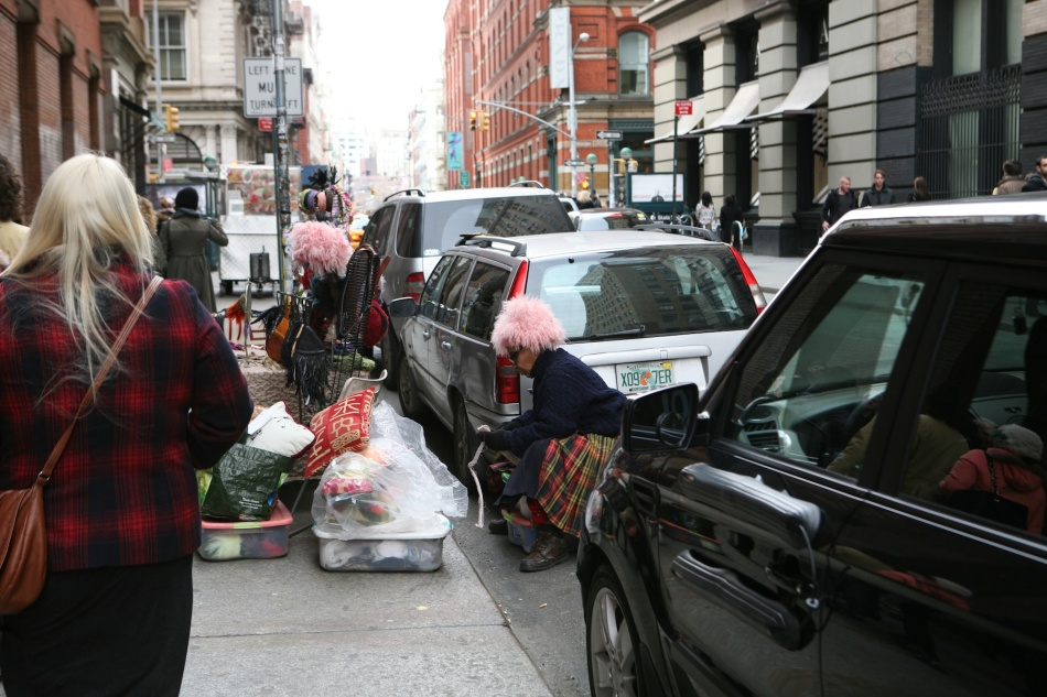 Pink Wigs NYC