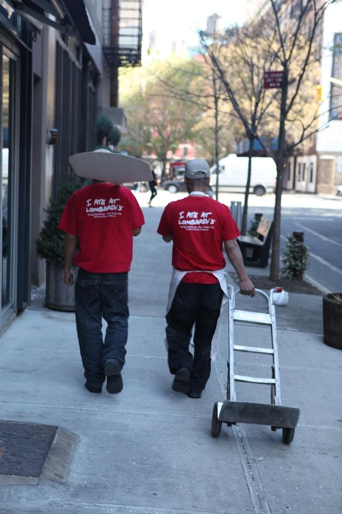 Pizza Men New York City
