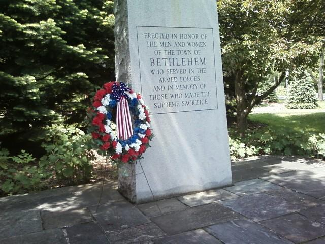 Bethlehem Memorial Day Wreath