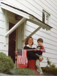 Mark and Mom in Clarion