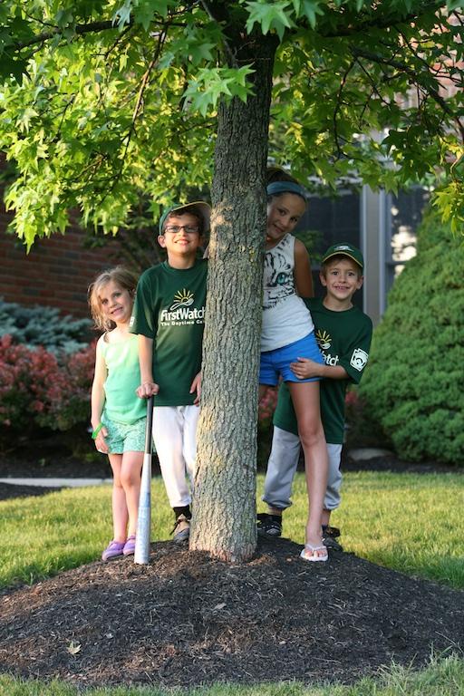 four grandkids