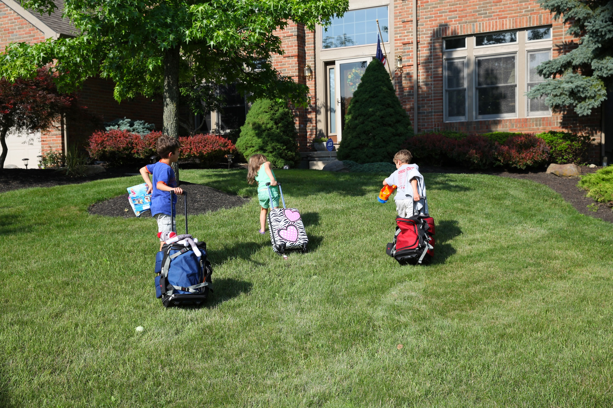 suitcase race for home and then off to a baseball game u2013 ruth e