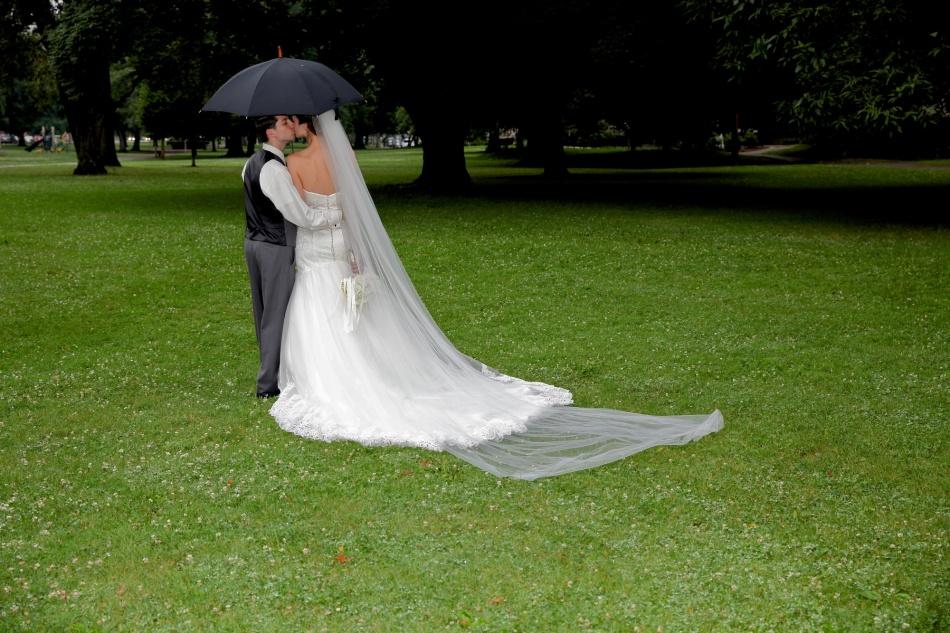 MAtt and Jessica Umbrella