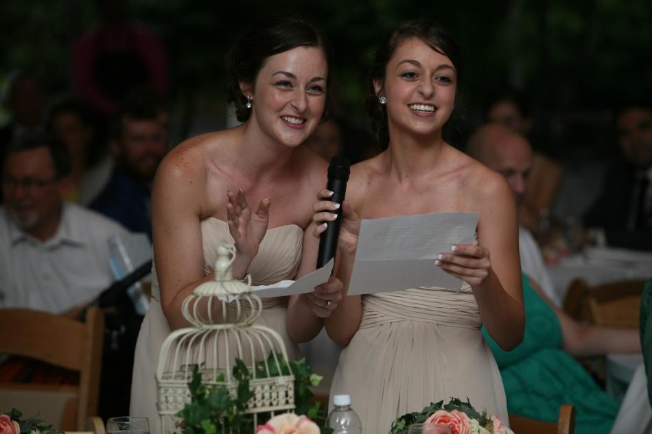 sisters' toast