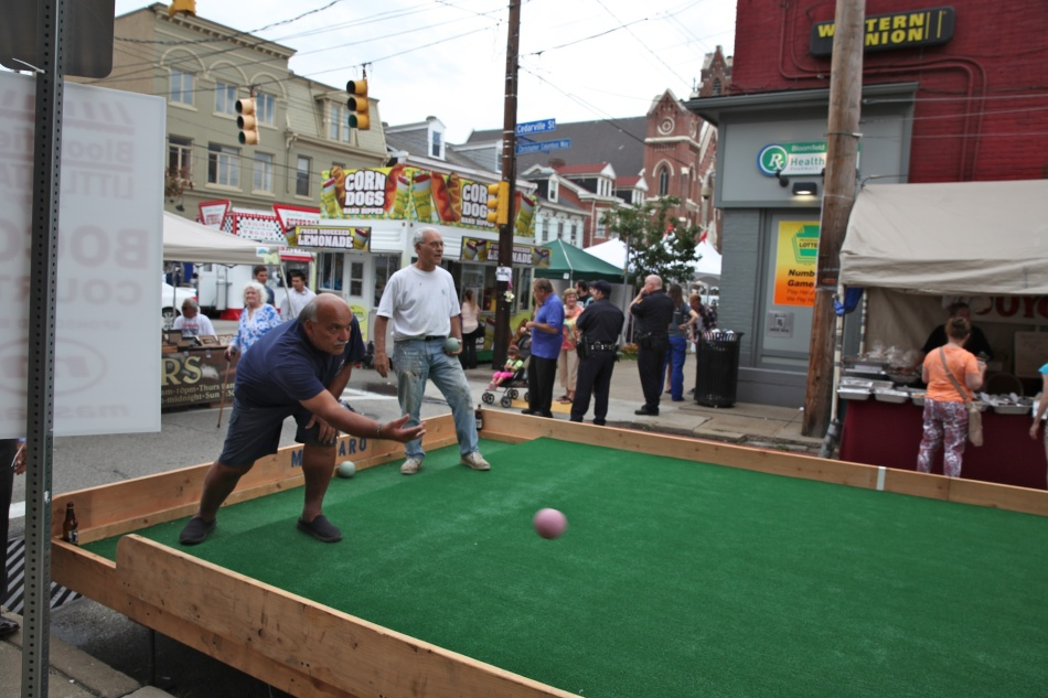 Bocce in Bloomfield 2