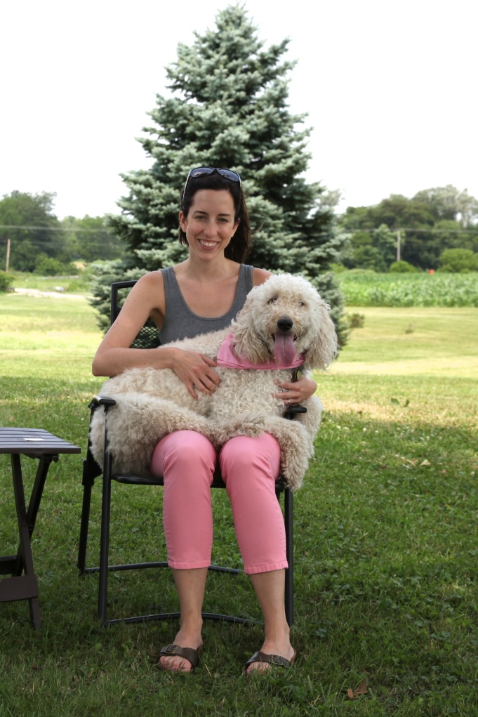Laura and Her Lap Dog (1)