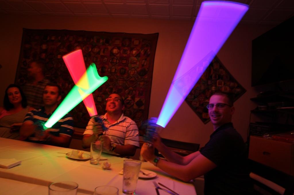 light sabersslow shutter