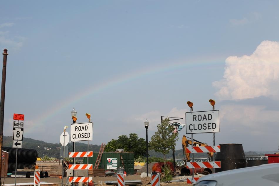 Rainbow in traffic series 1