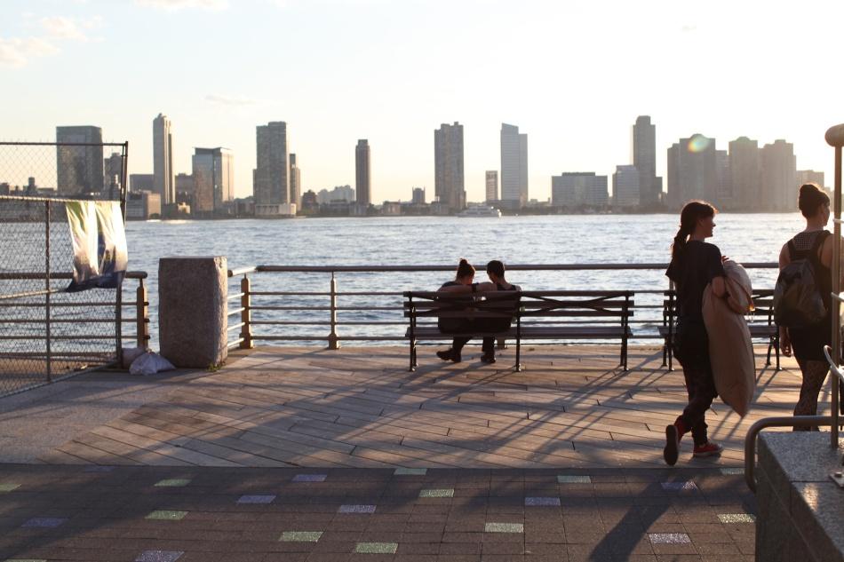 silhouette Hudson River 2