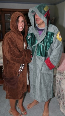 Chewbacca and Boba Fett