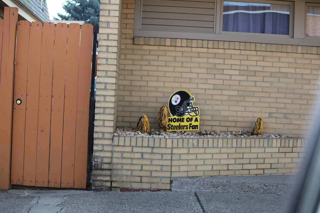 Steeler Fan Sign