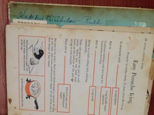 The recipe for Penuche