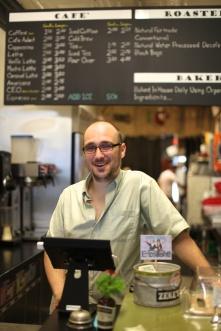 Alex the barista